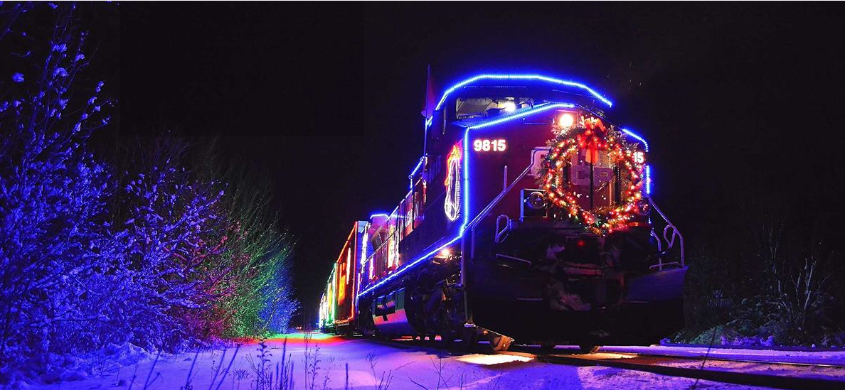 Canadian Pacific Holiday Train in Wisconsin