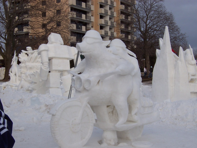 Winterfest & the U.S. National Snow Sculpting Competition in Lake Geneva