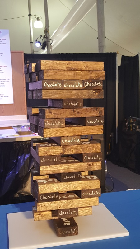 Burlington Chocolate Fest - Chocolate Jenga