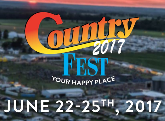 Country Fest 2017, Cadott
