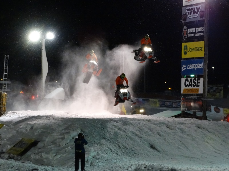Wisconsin Weekend: World Championship Snowmobile Derby racing