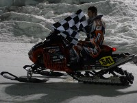 Snowmobile Derby winner