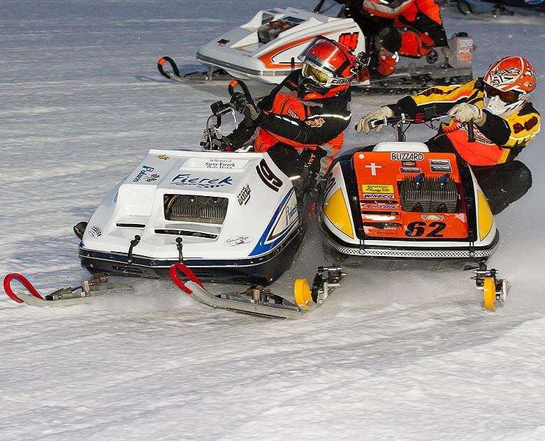 Vintage World Championship Snowmobile Derby, Eagle River