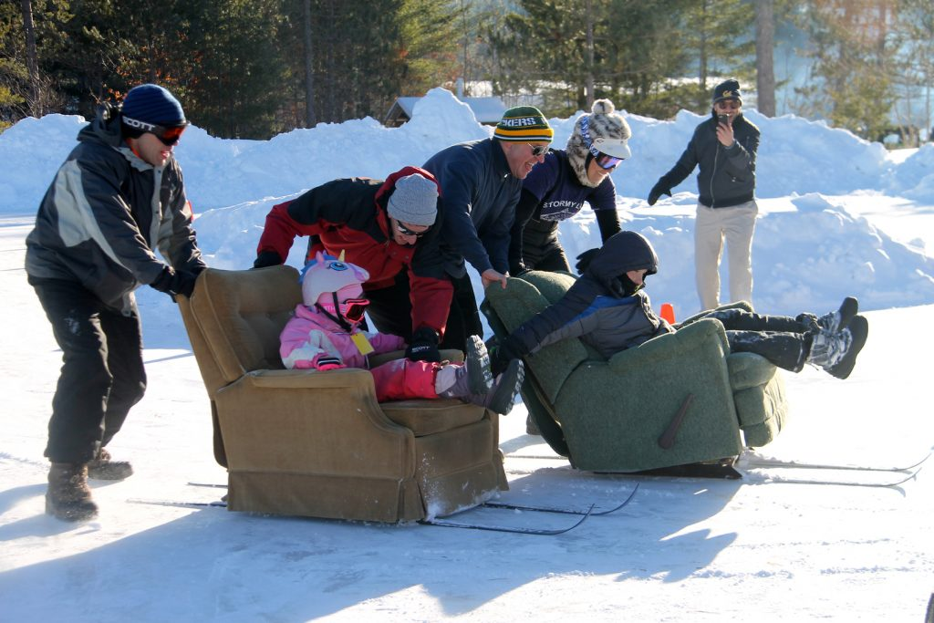 Northwoods Blizzard Blast recliner races