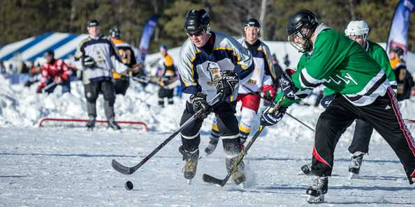 Wisconsin Weekend: Labatt Blue Pond Hockey National Championships