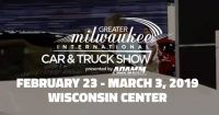 Greater Milwaukee Auto Show banner