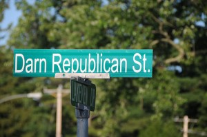 Quirky Street Names in Wisconsin - like Darn Republican Street