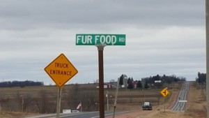 Quirky Street Names in Wisconsin - like Fur Food Road