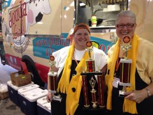 Grilled Cheese Championships, Gouda Girls