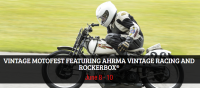Rockerbox and AHRMA Vintage Racing at Road America