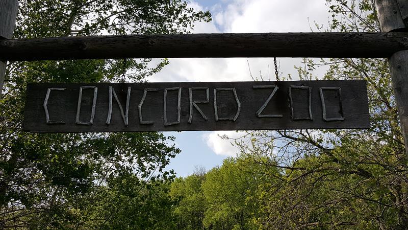 Concord Zoo entrance
