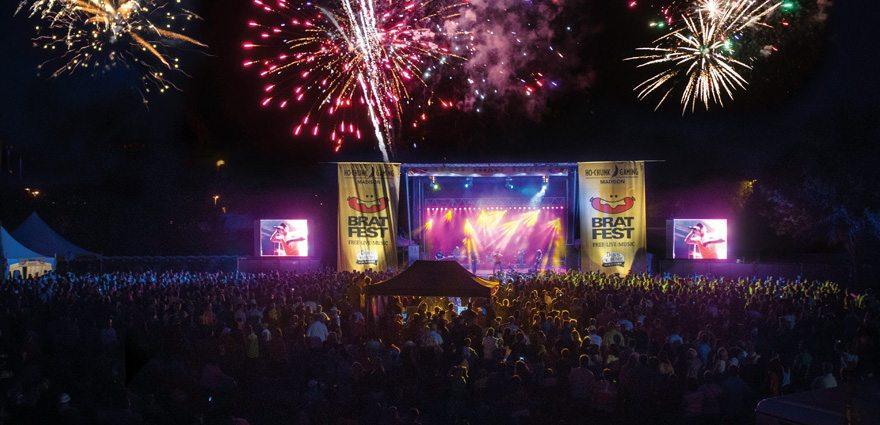Brat Fest concert, Madison