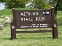 Aztalan State Park Sign