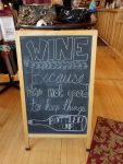 Seven Hawks Vineyards sign