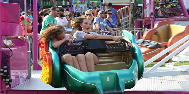 Ozaukee County Fair rides