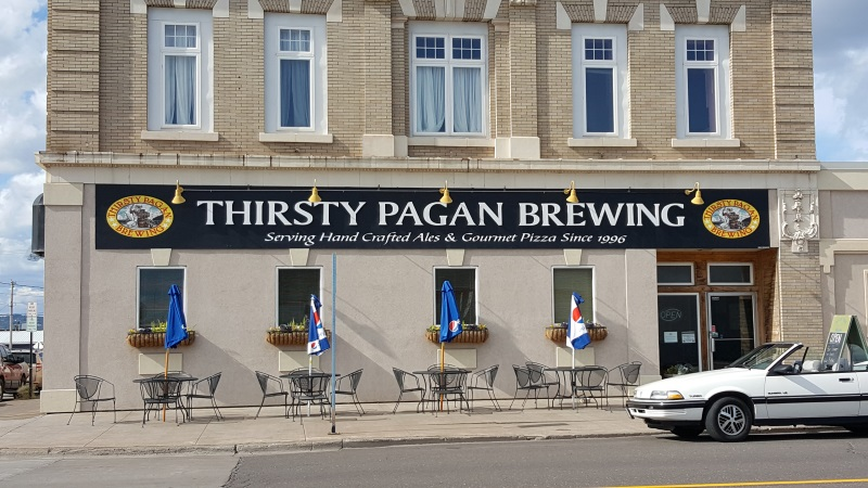 Thirsty Pagan Brewing front view