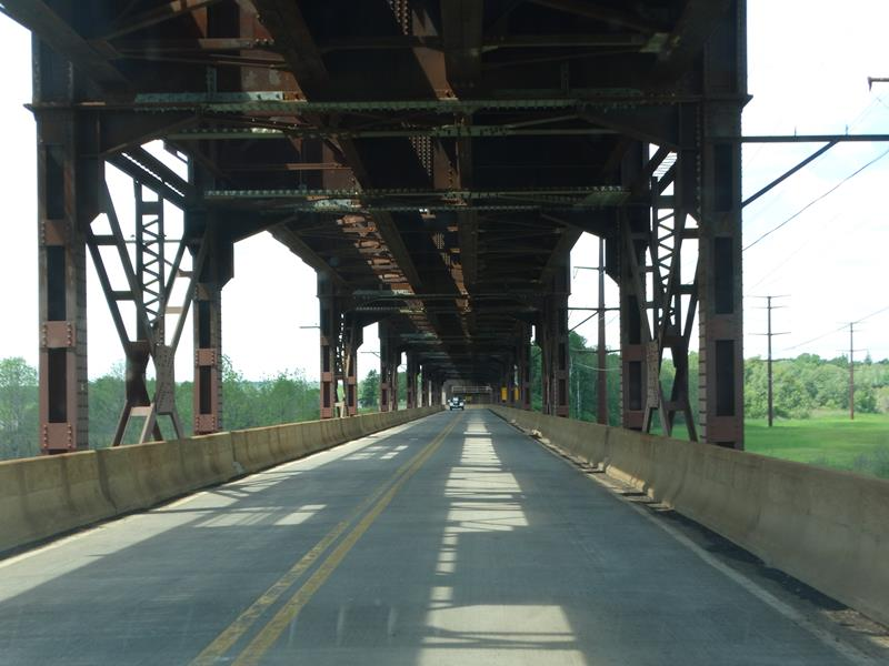 Oliver Bridge at the state line