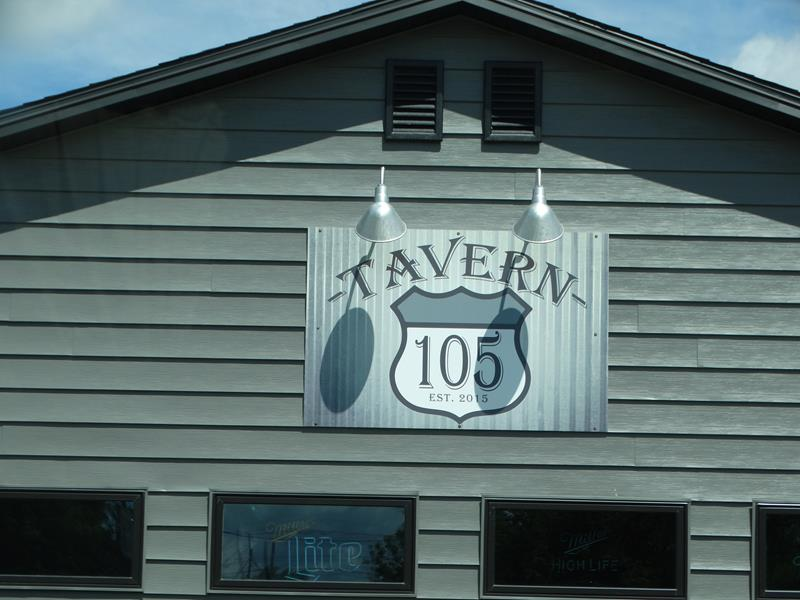 Tavern 105 along Highway 105 in Superior