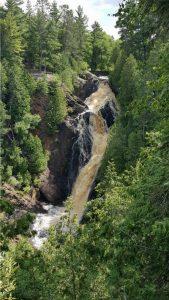 Big Manitou Falls along Wisconsin Highways 35