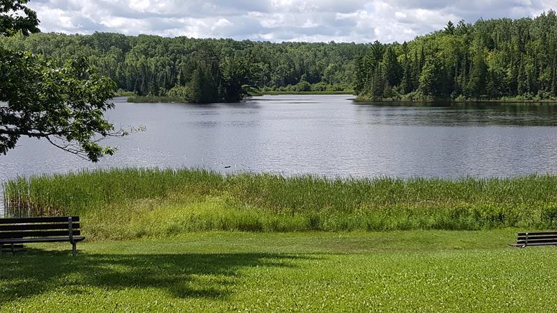 Pattison State Park's Interfalls Lake