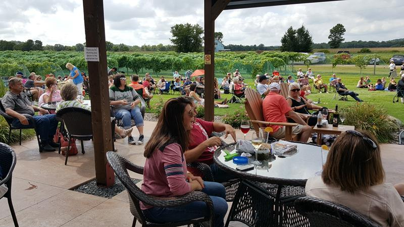 Riverbend Winery just off Highway 29