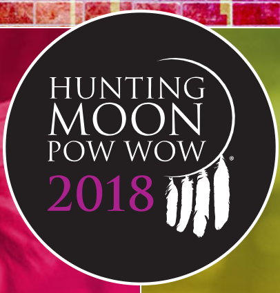 Hunting Moon Pow-Wow Logo, 2018