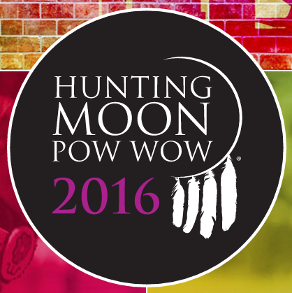 Hunting Moon Pow Wow 2016 logo