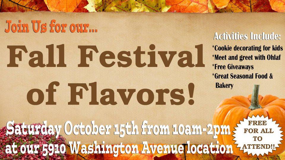 Racine Fall Festival at O&H