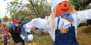 Wisconsin Dells Fall Festival Weekend scarecrow