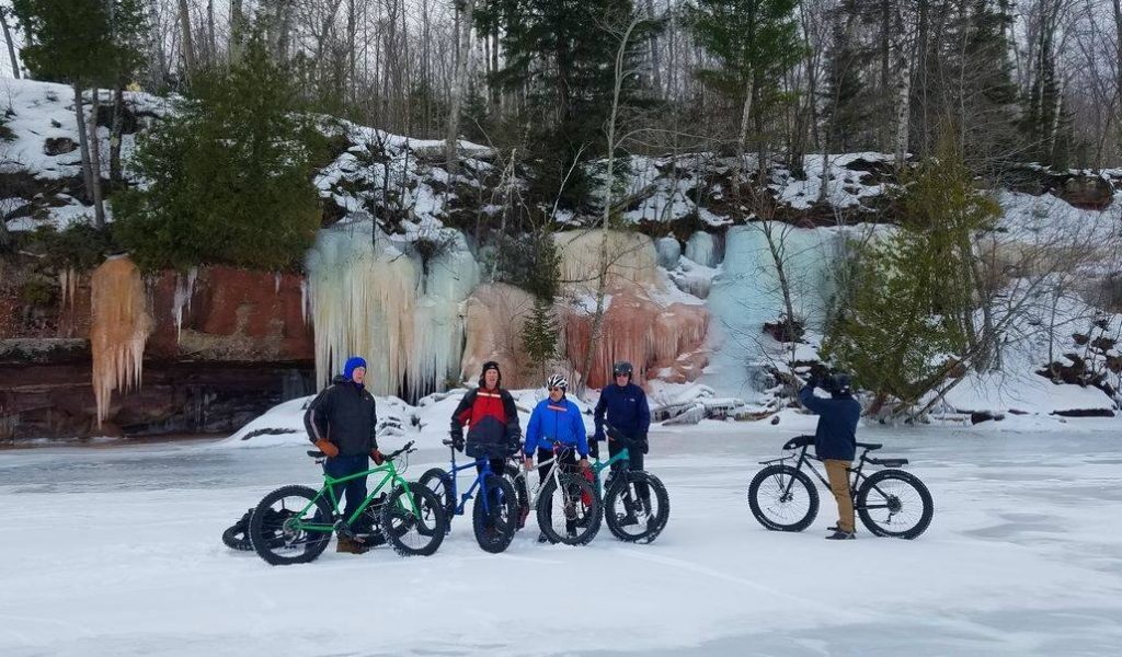 Bayfield Winter Festival Fat Tire Ride