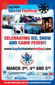 2017 Bayfield Winter Festival poster