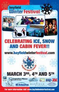 2017 Bayfield Winter Festival poster