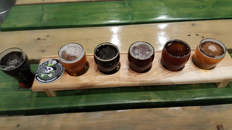 R'Noggin Brewing sampler