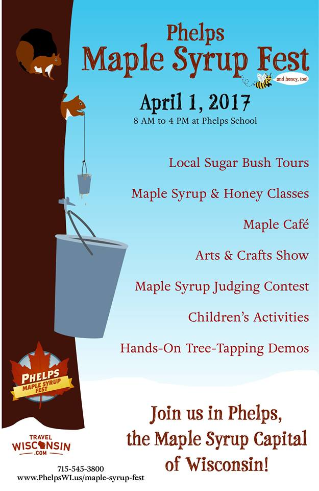 Phelps Maple Syrup Fest details