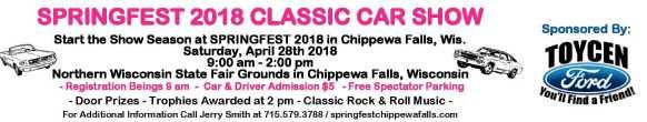 Springfest, Chippewa Falls Classic Car Show