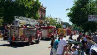 Copperfest parade
