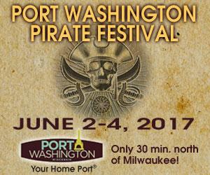 Port Washington Pirate Festival, June 2-4, 2017