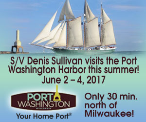 S/V Denis Sullivan at the Port Washington Pirate Festival
