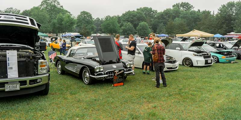 Gilbert Brown Foundation Classic & Custom Car Show