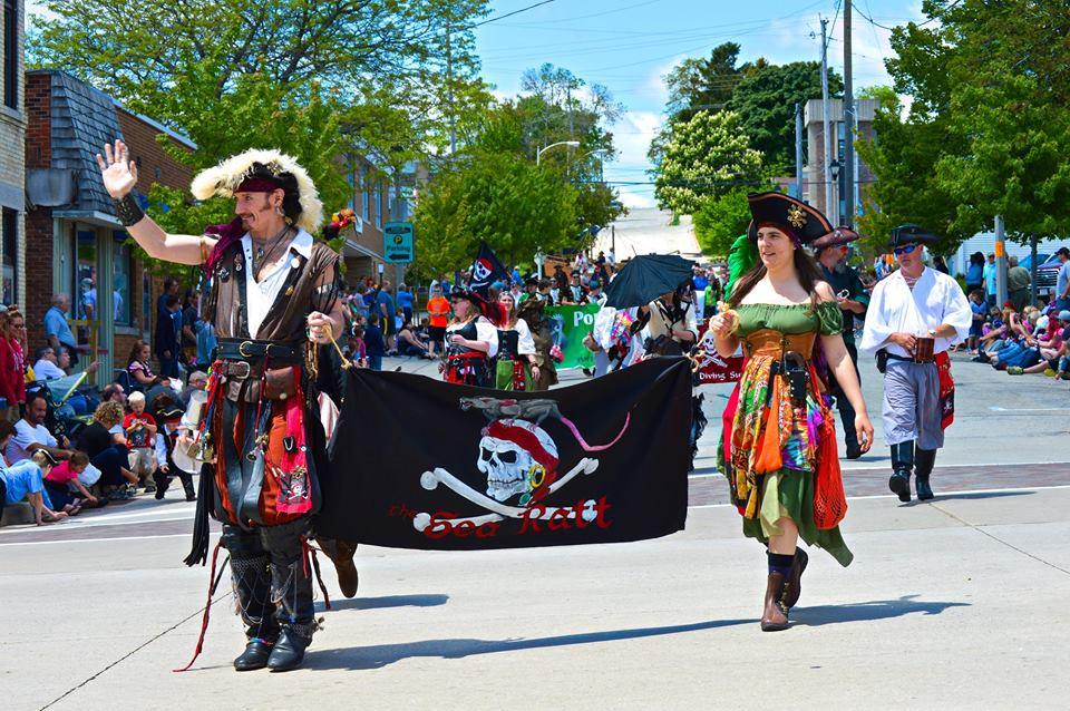 Port Washington Pirate Festival Parade