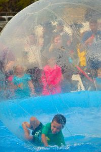Port Washington Pirate Festival Zorb Ball