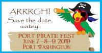 Wisconsin Weekend: Port Pirate Fest in Port Washington, June 7-9. 2019