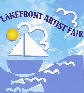 Racine Lakefront Artists Fair poster