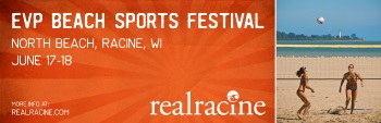 EVP Beach Sports Festival, Racine, June 17-18, 2017
