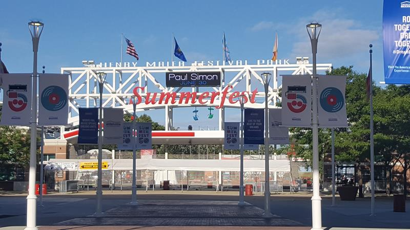 Summerfest 50th entrance