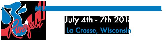 Riverfest La Crosse logo