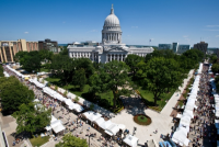 Wisconsin Weekend: Madison's Art Fair on the Square