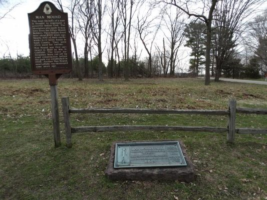 Man Mound Park & Historic Marker