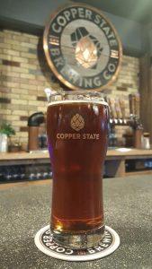Copper State Brewing tap