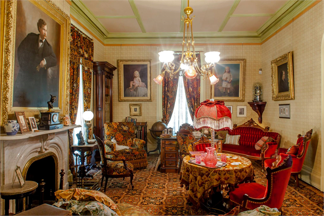 Inside Villa Louis